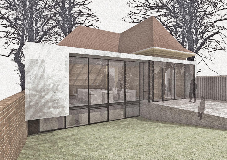 update torhaus modulorbeat architekten m nster. Black Bedroom Furniture Sets. Home Design Ideas